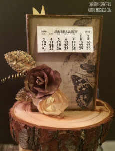 Study in Brown Calendar Front