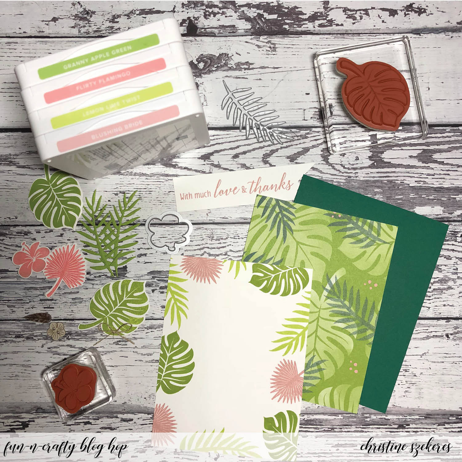 Stampin Up New Style Ink Pad Granny Apple Green Brand New